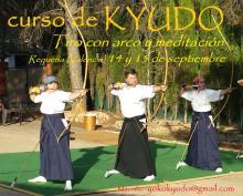 Curso de Kyudo en Requena (Valencia) en septiembre 2019 - Yoko Kyudojo