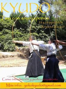 Curso de Kyudo en Valencia en verano 2019 - Yoko Kyudojo