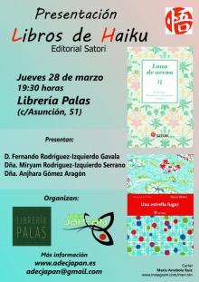 Presentación de libros de haiku en Casa del Libro en Sevilla