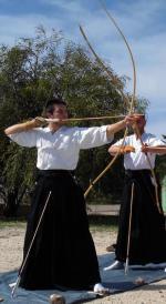 Curso de kyudo en Almería en abril 2016