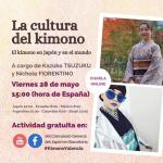 Charla sobre la cultura del kimono