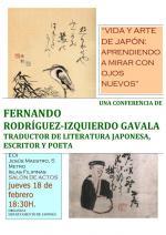 """Conferencia """"Vida y arte de Japón: Aprendiendo a mirar con ojos nuevos"""" en Madrid"""