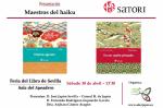 """Presentación de dos volúmenes de """"Maestros del Haiku"""" en Feria del Libro Sevilla 2016"""