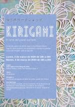 Taller de kirigami en Sevilla en Marzo 2020